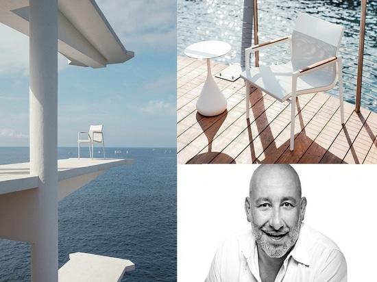 2017 : DOYEN par Jean-Marie Massaud. Une collection de chaises de chaussure à talon découvert inspirées en des yachts d'emballage, DOYEN montre une attention aux détails remarquable, en accord avec...