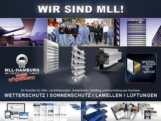 Récompense allemande 2018 de marque pour MLL-HAMBURG
