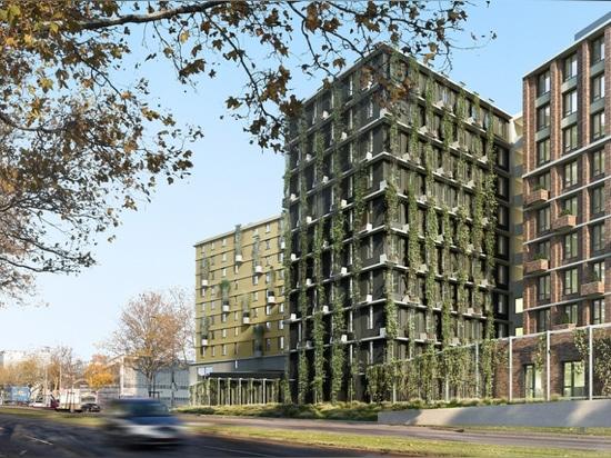 La brique, l'architecture ferme de Vienne