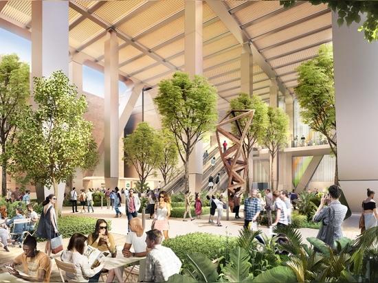 Stimulez + des associés casse la terre sur le projet orienté transit principal à San Francisco du centre