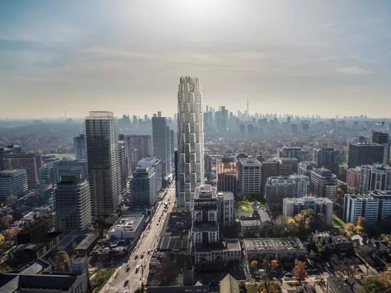 Bande de studio «viable pour élever» Toronto avec cette tour de rendement optimum