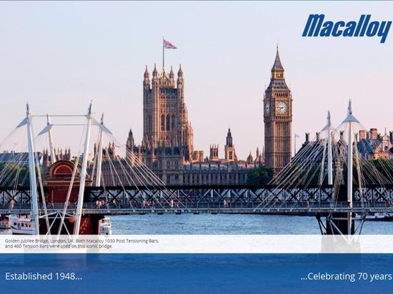 La NOUVELLE brochure d'entreprise de Macalloy