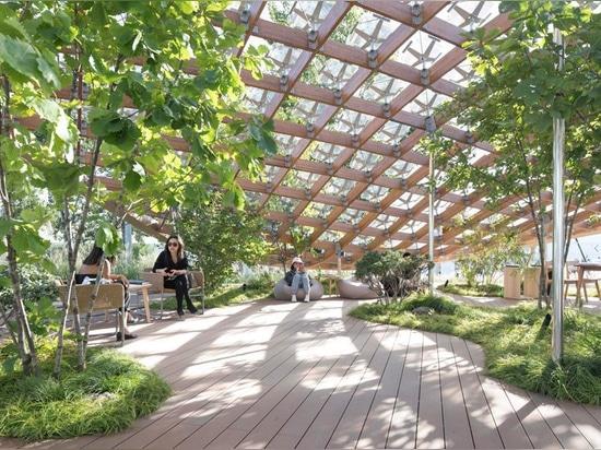 """FOU propose """"le jardin vivant"""" aussi à la maison de l'avenir à la vision 2018 de maison de porcelaine"""
