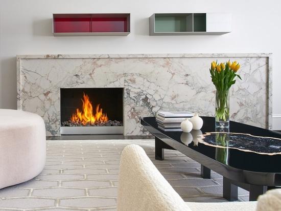 Robert Gurney rénove la maison urbaine de 200 ans de brique dans le Washington DC