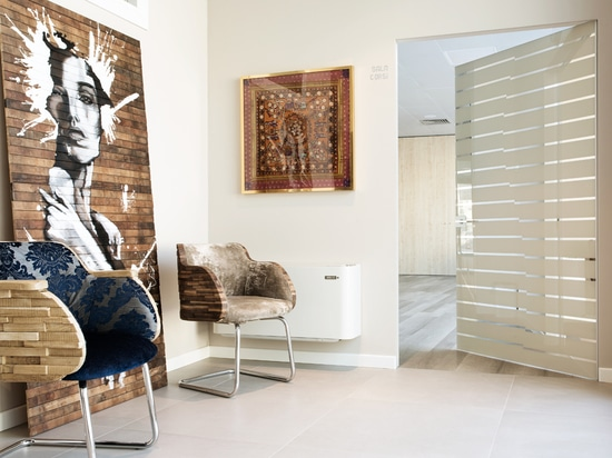 Les portes en verre adaptées aux besoins du client explorent différents techiniques de décoration conçus par le verre de Henry