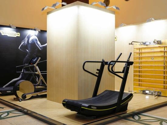 Support de Technogym chez Salone del Mobile Changhaï