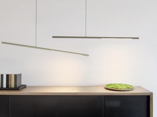 PALITO - nouveau luminaire linéaire à LED création de SATTLER - luminaire suspendu