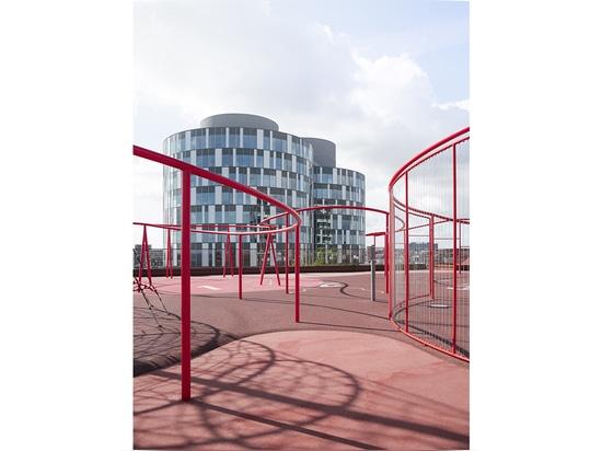 Deuxième prix : Alexander Mai et Mikula Platz © Alexander Mai, Mikula Platz /architekturbild