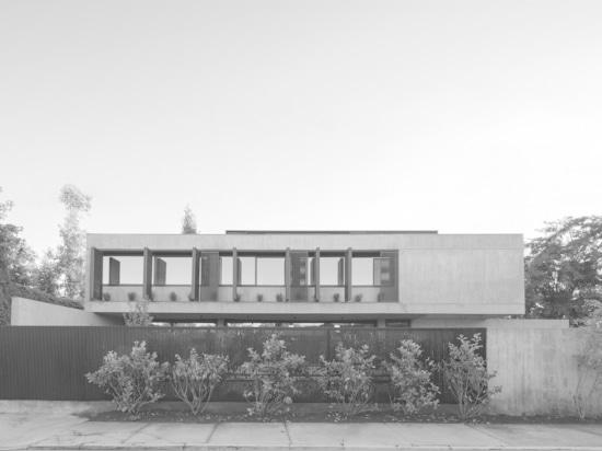 Chambre de CHS/Chauriye Stäger Arquitectos