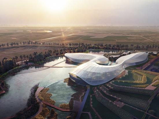 Ennead conçoit la nouvelle réserve naturelle et l'aquarium public en Chine