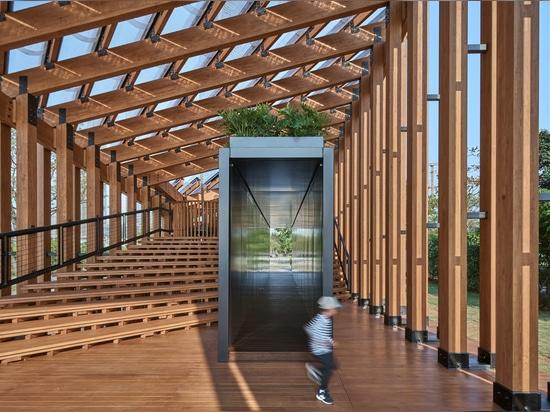 Pavillon Grandir / Nouveaux travaux de bureau