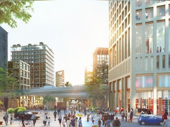 david adjaye fait partie de l'équipe gagnante choisie pour concevoir le nouveau quartier parisien