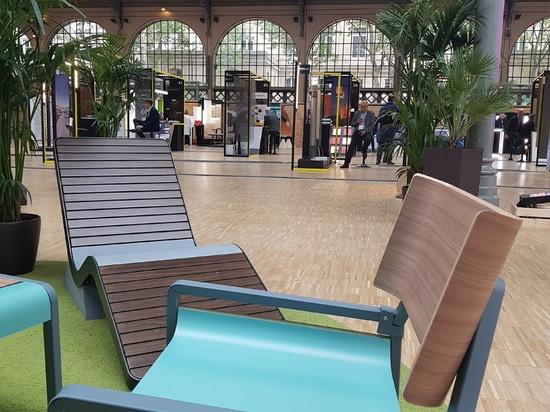 Couleurs et matières au Carreau du Temple à Paris