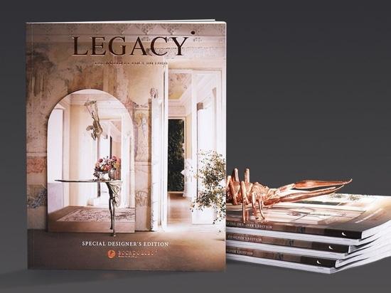 Le nouveau magazine Legacy de Boca do Lobo