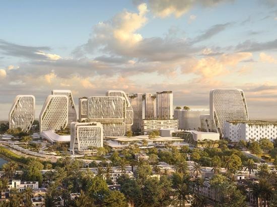 UNStudio : les plans directeurs d'une ville intelligente à Bangalore