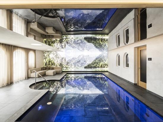Hôtel Hubertus…oscillant entre ciel et terre