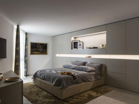 Le guichetier a annoncé des intérieurs dans un appartement exclusif à Locarno