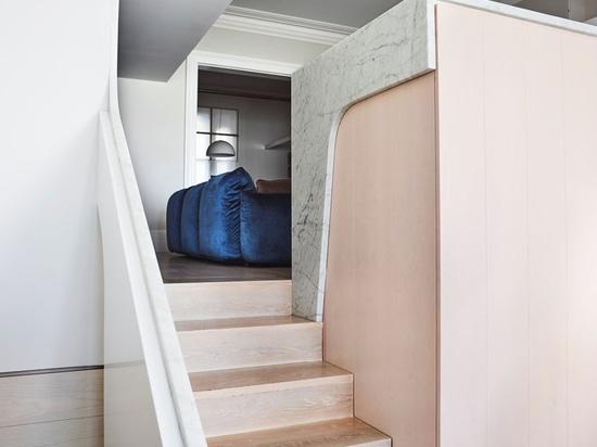Une maison victorienne en Australie a reçu une extension moderne
