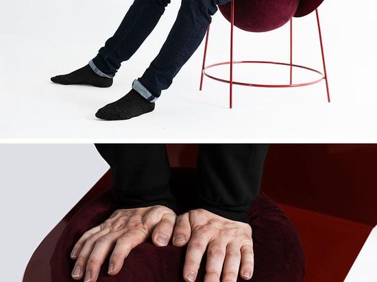 Katia Tolstykh a conçu la chaise PROUN