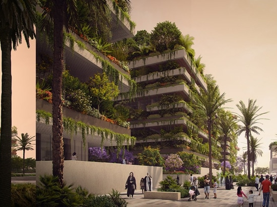 """stefano boeri projette trois """" cubes verts """" pour l'égypte qui formeront la première forêt verticale de l'afrique"""
