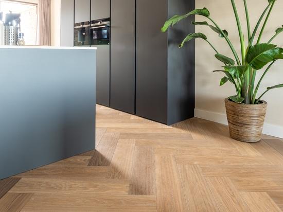 Dennebos Flooring plancher à chevrons en couleur G.08.