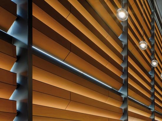 Tour de bureau de vue de capitol, Ankara (Turquie)   Anmahian Winton Architects - photos : Florian Holzherr