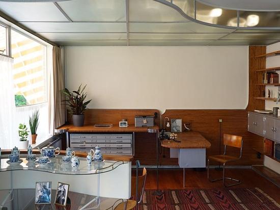 La maison moderniste de Sybold Ravesteyn à Utrecht s'ouvre au public