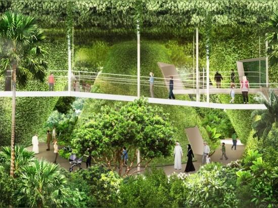 WOHA dévoile un pavillon luxuriant et net-zéro à Singapour pour l'Exposition universelle 2020