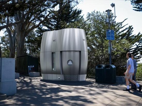 Les toilettes publiques de haute technologie proposées à San Francisco peuvent recycler l'eau de pluie pour la réutiliser
