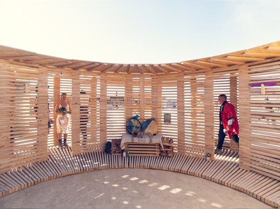 Pavillon Vapeur de Vie / JKMM Architectes