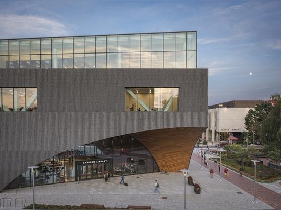 Bibliothèque Charles à Temple University / Snøhetta