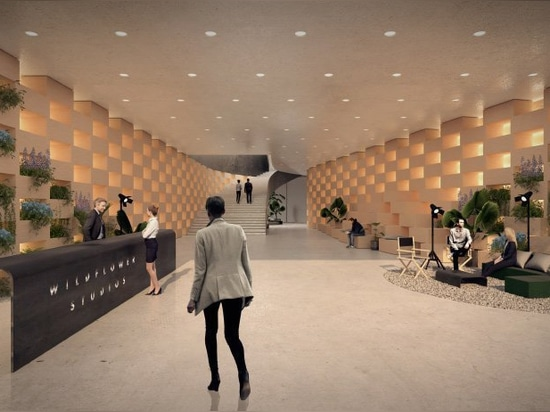 le groupe bjarke ingels conçoit un'village vertical pour le cinéma' à NYC