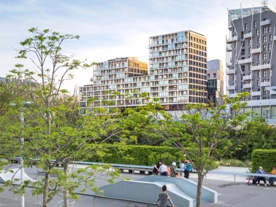 Eco-quartier de Clichy-Batignolles à Paris
