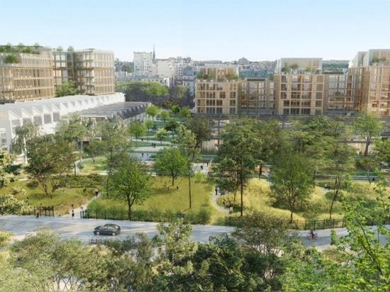 L'ALS et Biecher Architectes remportent le concours pour la transformation d'un ancien site ferroviaire central avec Jardin Mécano