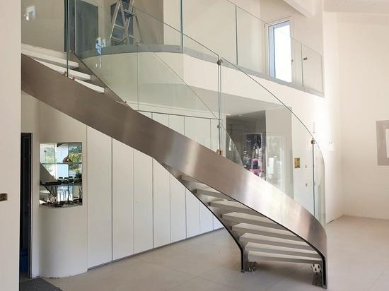 Escalier de forme hélicoïdale