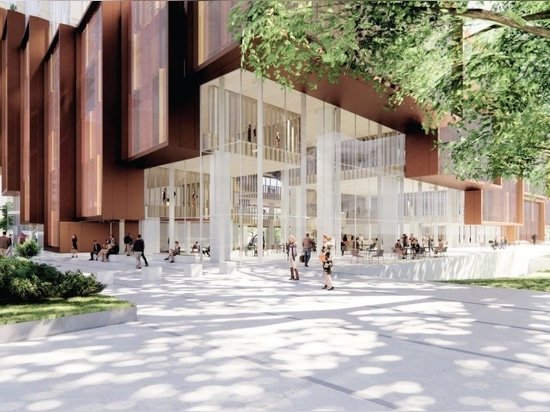 """3XN, Aspect design du nouveau """"cœur"""" du campus de Kensington de l'UNSW"""