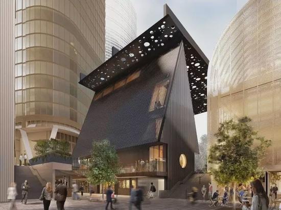 David Adjaye, Daniel Boyd collaborent sur une place publique et un bâtiment à Sydney