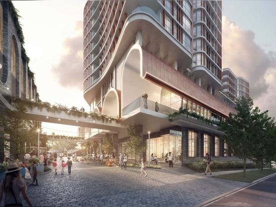 """Une """"famille de tours sculpturales"""" proposée pour la banlieue de Brisbane"""