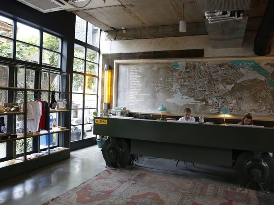 Fabrika Tbilissi, une ancienne usine soviétique devenue un centre de culture urbaine
