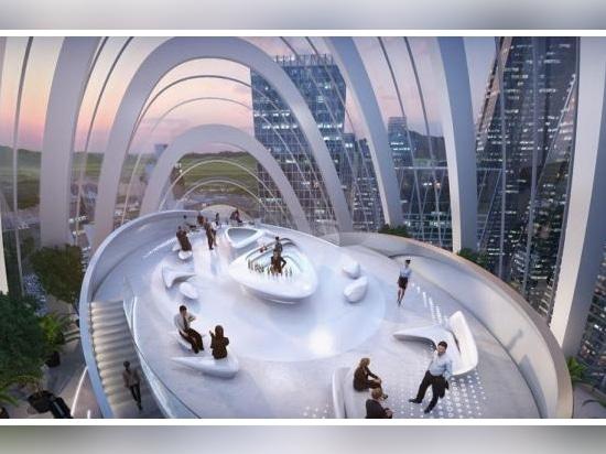 Le projet oblong de Zaha Hadid Architects pour le siège de l'OPPO à Shenzhen