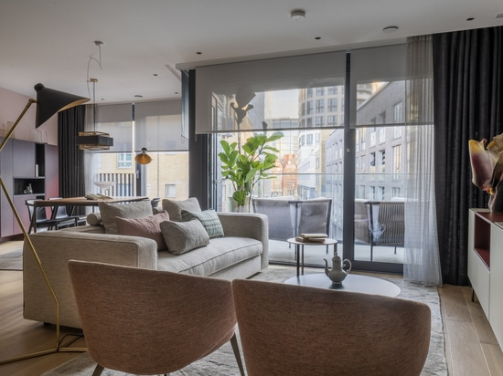 Contrat Lema UK - L'appartement du salon des créateurs