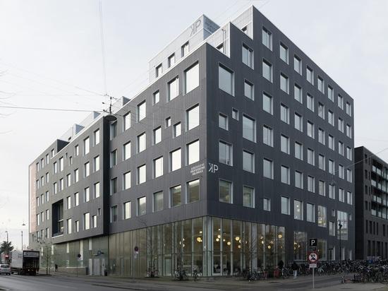 Campus de Carlsberg en concrete skin