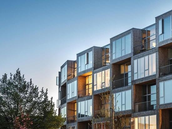 """Dortheavej"""", un logement abordable conçu par BIG à Copenhague pour Lejerbo."""