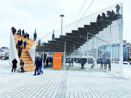 Pavillon Taksim / IND [Inter.National.Design]