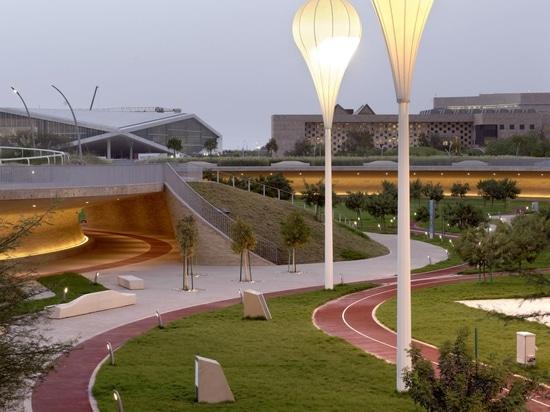 Le parc à oxygène du Qatar est l'antidote parfait à la chaleur du désert