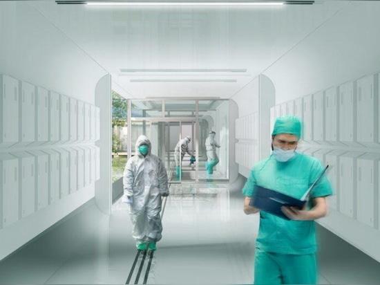 Des hôpitaux préfabriqués en pop-up proposés comme centres de soins pendant les pandémies