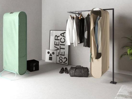 Pura-Case de Carlo Ratti utilise l'ozone pour purifier les vêtements