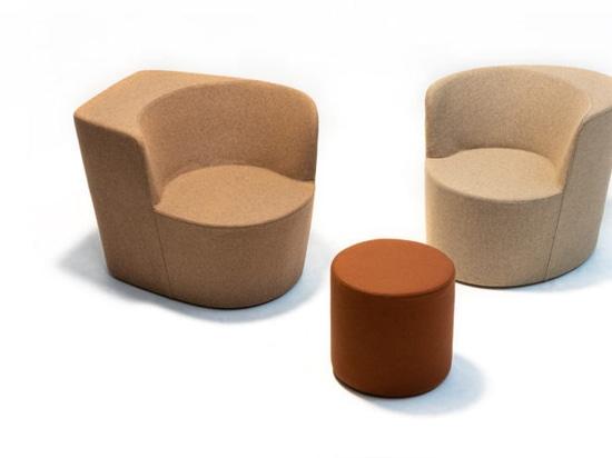 Moroso présente le Taba multifonctionnel pour vivre, s'asseoir, parler et travailler