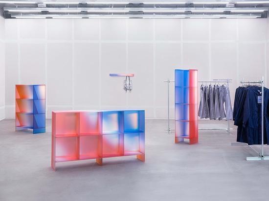La collection HALO de BUZAO reflète la lumière comme un arc-en-ciel