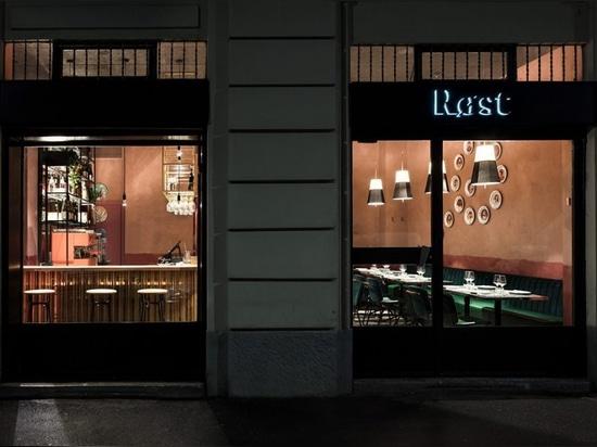 Le restaurant Røst à Milan